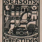 Seasons Greetings #10110 stamp from Viva Las Vegastamps!