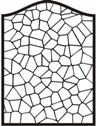 Arch Stained Glass Stamp