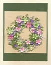 Flower Wreath Card