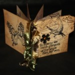 Joe R's mini journal inspired by Tim Holtz