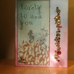 """lovely to sea you"" Tim Holtz inspired card by Joe M."