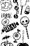 Halloween Treats Clear Stamp Set