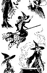 Witches Clear Stamp Set