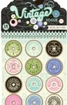 Vintage Vogue Spool Buttons