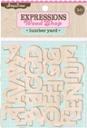 Woodshop Alphabets - Lumber Yard