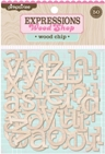Woodshop Alphabets - Wood Chip