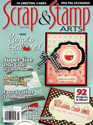 Scrap & Stamp Magazine, March 2011