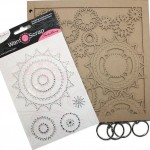 Sprightly Sprockets Chipboard Album from Want2Scrap