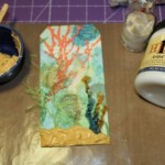 Mermaid Tag with Artist's Cement