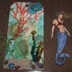 Mermaid Tag pieces
