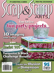 Scrap & Stamp Arts, April 2011