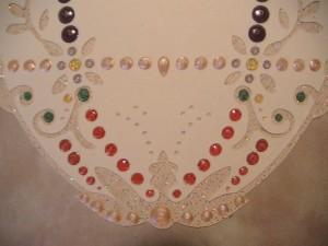 Detail-Easter Egg card