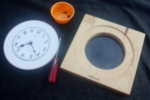 Disassembled Clock
