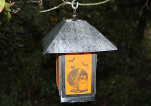 Side 1 - Lantern in daylight