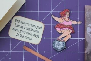 Viva Las Vegastamps! used in the Circus card