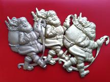 Three Santas