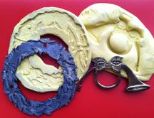 Wreath & Horn Molds
