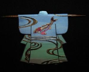 Koi Kimono Detail