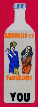 Absolut-ly Fabulous Card - Absolut Bottle Shape