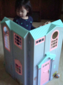 Chloe and Doll House