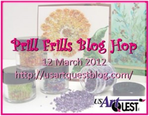 USArtQuest's Prill Frills Blog Hop