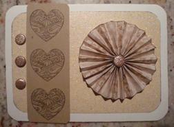 Filigree Heart Card