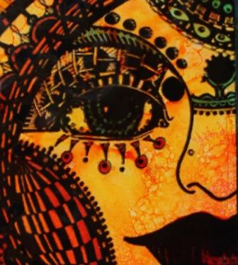Close-up-Mary Vogel Lozinak face card
