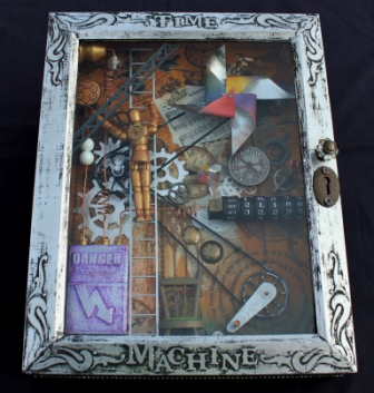 Time Machine - Steampunk Style Shadowbox