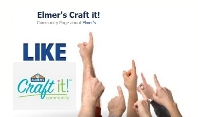 Like Elmer's Craft It on facebook