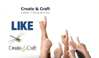 Like createNcraft on facebook