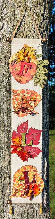 Fall Banner with Gilded Letters (thumb)