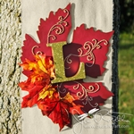 Fall Banner with Gilded Letters - L1 (thumb)