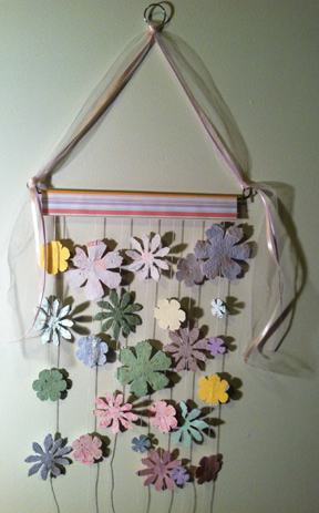 wall hanging made with handmade papers createncraft
