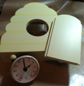 Garage Sale Clock