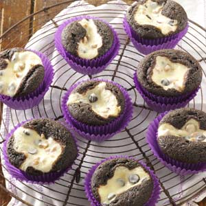Cream Cheese Chocolate Cupcakes Recipe by Taste of Home