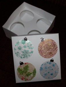 Cupcake Box Sample