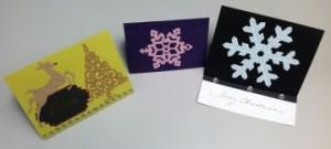 Trio of Christmas Cards