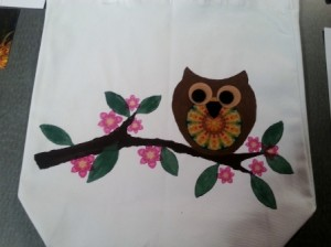 Owl On Branch - 1 -Finished