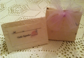 Treat Bag and Place Card