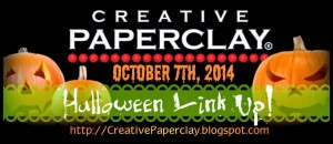Creative Paperclay Halloween Link Up