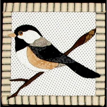 "Chickadee ""No Sew"" Quilted Wall Hanging Kit : quilted wall hanging kits - Adamdwight.com"