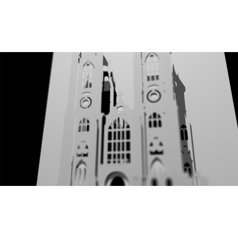 Westminster Abbey (Closeup) Popup Card