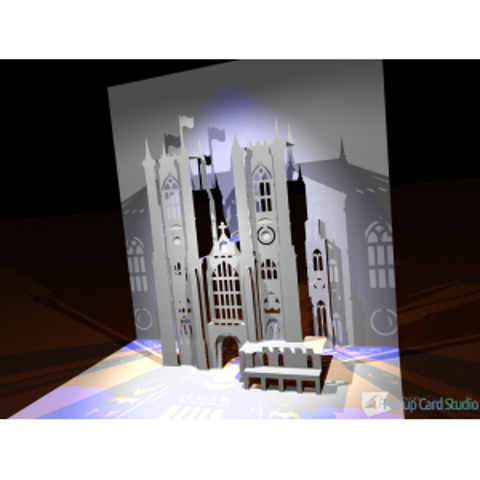 Westminster Abbey Popup Card