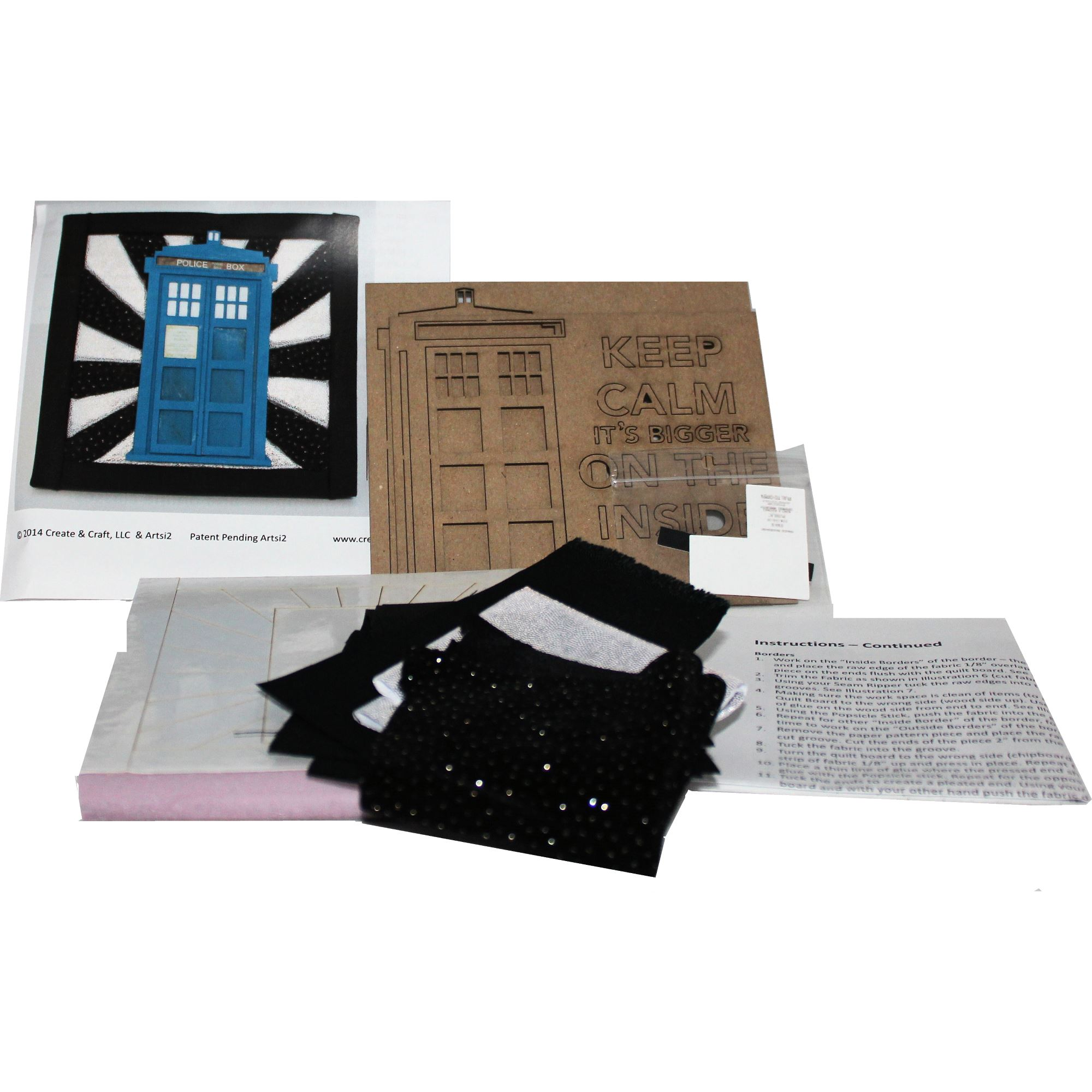 No Sew TARDIS Kit