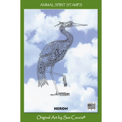 Raven Bear Animal Spirit Stamp By Earth Art International