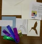 Hummingbird Iris Folding Kit