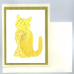 cat-yellow iris folding kit