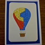 balloon iris folding card kit