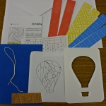 hot air balloon kit