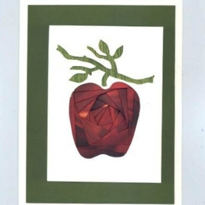 Apple Iris Folding Card Kit